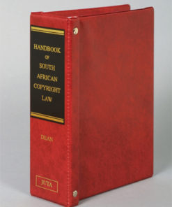 Handbook of South African Copyright Law
