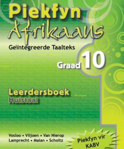Piekfyn Afrikaans Huistaal Leerdersboek Graad 10
