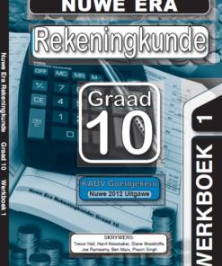Nuwe Era Rekeningkunde Graad 10 Oefeningboek