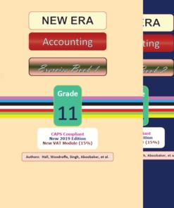 New Era Accounting Grade 11 Exercise Book