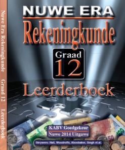 Nuwe Era Rekeningkunde Graad 12 Leerder Boek