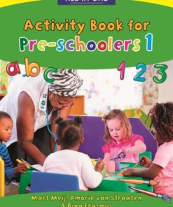 New All-In-One Activity Book for Pre-schoolers