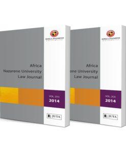 Africa Nazarene University Law Journal (Print)