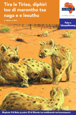 Via Afrika Setswana Home Language Intermediate Phase Graded Reader 23 Tira le Tiriso