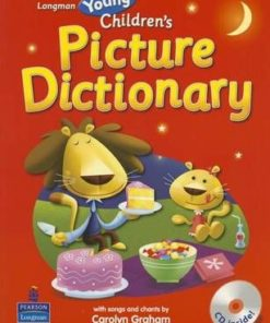 Longman Young Children's Picture Dictionary (Paperback) with CD
