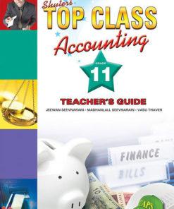 Shuters Top Class Accounting Grade 11 Teachers Guide