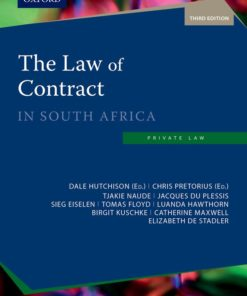 The Law of Contract in South Africa 3e