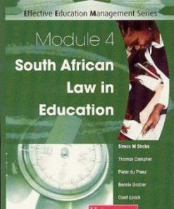 South African Law In Education Module 4