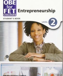 OBE for FET Colleges Entrepreneurship Level 2 Student's Book