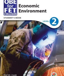 OBE for FET Colleges Economic Environment Level 2 Student's Book