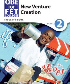 OBE for FET Colleges New Venture Creation Level 2 Student's Book