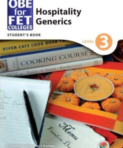 OBE for FET Colleges Hospitality Generics Level 3 Student's Book
