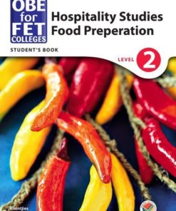 OBE for FET Colleges Food Preparation Level 2 Student's Book
