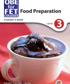 OBE for FET Colleges Food Preparation Level 3 Student's Book