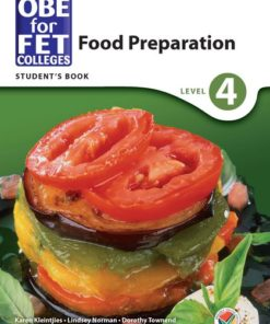 OBE for FET Colleges Food Preparation Level 4 Student's Book