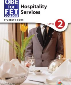 OBE for FET Colleges Hospitality Services Level 2 Student's Book