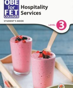 OBE for FET Colleges Hospitality Services Level 3 Student's Book