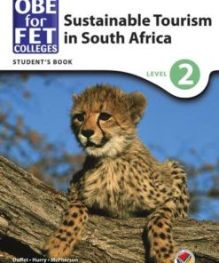 OBE for FET Colleges Sustainable Tourism in South Africa Level 2 Student's Book