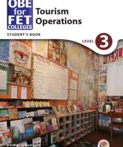 OBE for FET Colleges Tourism Operations Level 3 Student's Book