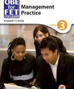 OBE for FET Colleges Management Practice Level 3 Student's Book