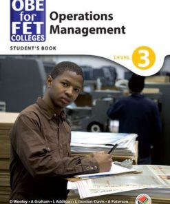 OBE for FET Colleges Operations Management Level 3 Student's Book