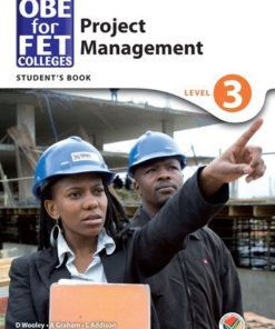 OBE for FET Colleges Project Management Level 3 Student's Book