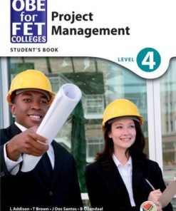 OBE for FET Colleges Project Management Level 4 Student's Book