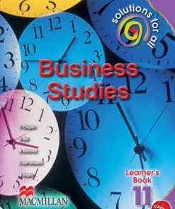 SOLUTIONS FOR ALL BUSINESS STUDIES GRADE 11 LB