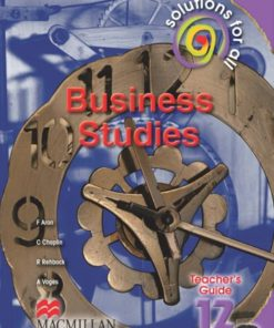 SOLUTIONS FOR ALL BUSINESS STUDIES GRADE 12 TG