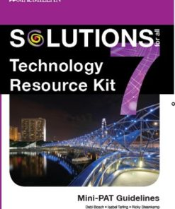 SOLUTIONS FOR ALL TECHNOLOGY GRADE 7 RESOURCE KIT