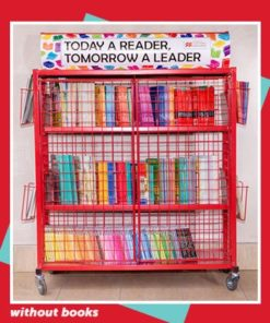 READING TROLLEY (WITHOUT BOOKS)
