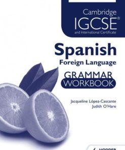 Cambridge/ International Exam IGCSE INT CER SPAN WB