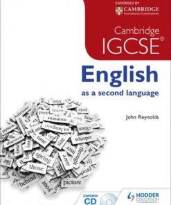 Cambridge/ International Exam IGCSE ENG SEC LANG +CD