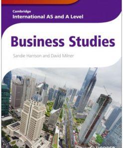 Cambridge/ International Exam AS/A LVL BUS STUDIE RG