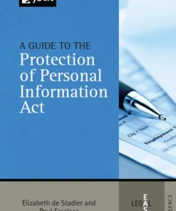 Guide to the Protection of Personal Information Act