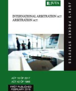 International Arbitration Act 15 of 2017;  Arbitration Act 42 of 1965