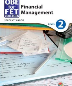 OBE for FET Colleges Financial Management Level 2 Student's Book