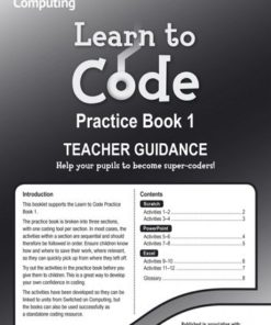 LEARN TO CODE TEACHERS NOTES 1