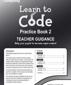 LEARN TO CODE TEACHERS NOTES 2