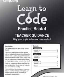 LEARN TO CODE TEACHERS NOTES 4