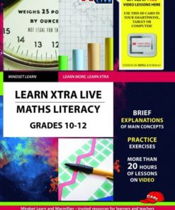 LEARN XTRA LIVE MATHS LITERACY STUDY GUIDE GRADE 10-12