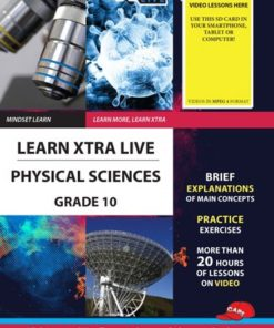 LEARN XTRA LIVE PHYSICAL SCIENCE STUDY GUIDE GRADE 10