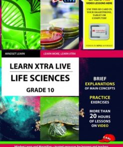 LEARN XTRA LIVE LIFE SCIENCES STUDY GUIDE GRADE 10