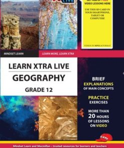 LEARN XTRA LIVE GEOGRAPHY STUDY GUIDE GRADE 12
