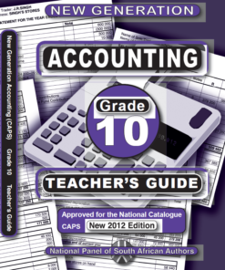 New Generation Accounting Grade 10 Teachers Guide