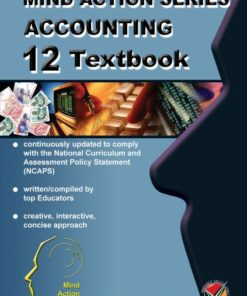 MIND ACTION SERIES Accounting CUE CARDS Grade 12