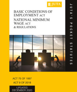 Basic Conditions of Employment Act 75 of 1997; National Minimum Wage Act 9 of 2018 & Regulations 4e