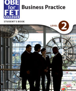 OBE for FET Colleges Business Practice Level 2 Student's Book