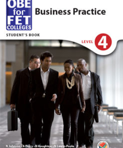 OBE for FET Colleges Business Practice Level 4 Student's Book