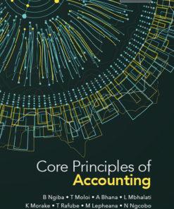 Core Principles of Accounting
